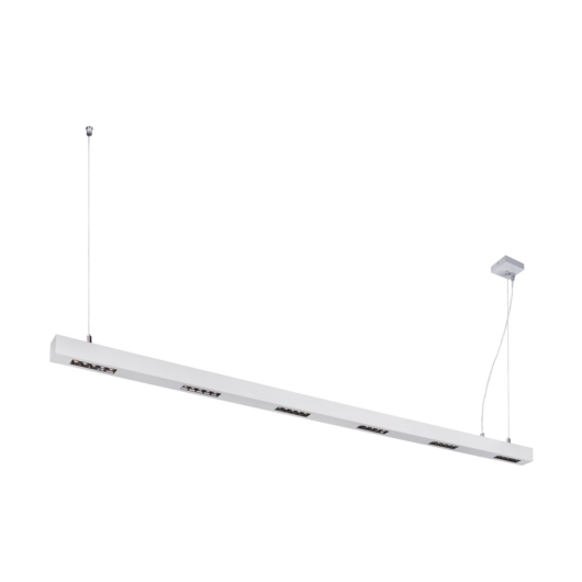 Q-LINE PD, LED beltéri függesztett lámpatest, 2m, BAP, silver, 3000K
