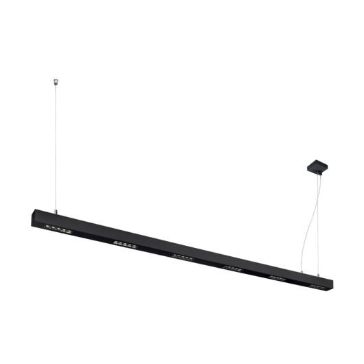 Q-LINE PD, LED beltéri függesztett lámpatest, 2m, BAP, fekete, 4000K