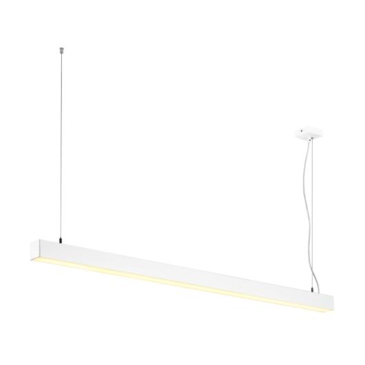 Q-LINE SINGLE LED, függesztett lámpatest, 1500mm, fehér