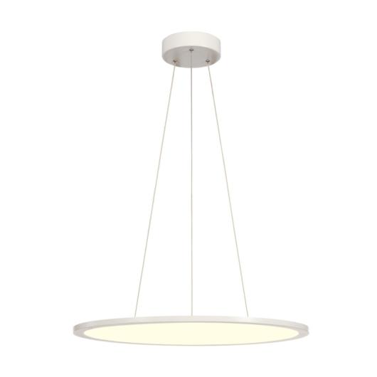 LED PANEL ROUND, függesztett lámpatest, fehér, 360LED, 40W, dimmelhető 1-10V, 4000K