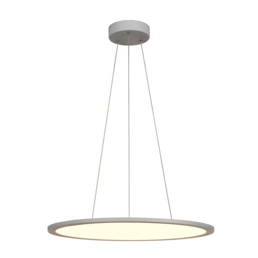 LED PANEL ROUND, függesztett lámpatest változat, ezüstszürke, 338 LED, 40W, dimmelhető, 4000K