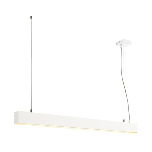 GLENOS függesztett lámpatest, matt fehér, 1m, 52W, 3000K