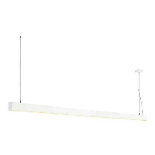 GLENOS függesztett lámpatest, matt fehér, 2m, 103W, 3000K