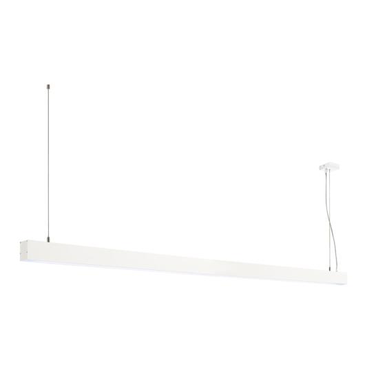 GLENOS függesztett lámpatest, matt fehér, 2m, 103W, 4000K