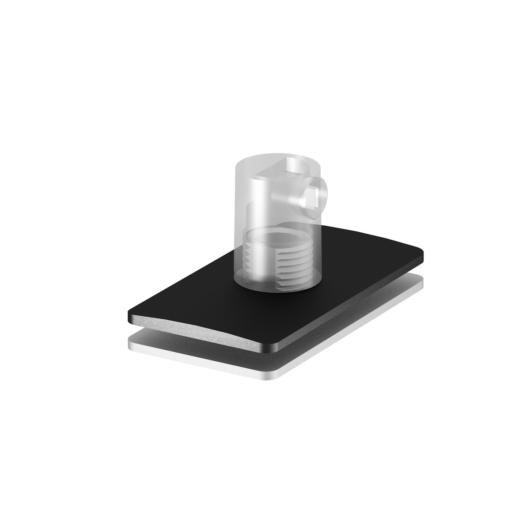 H-PROFILE strain relief/függesztett lámpatest feed-in, fekete