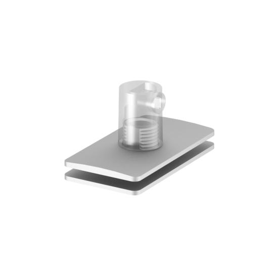 H-PROFILE strain relief/függesztett lámpatest feed-in, silver