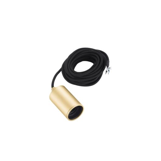 FITU PD, beltéri függesztett lámpatest, E27, soft arany, max. 60W, 5m