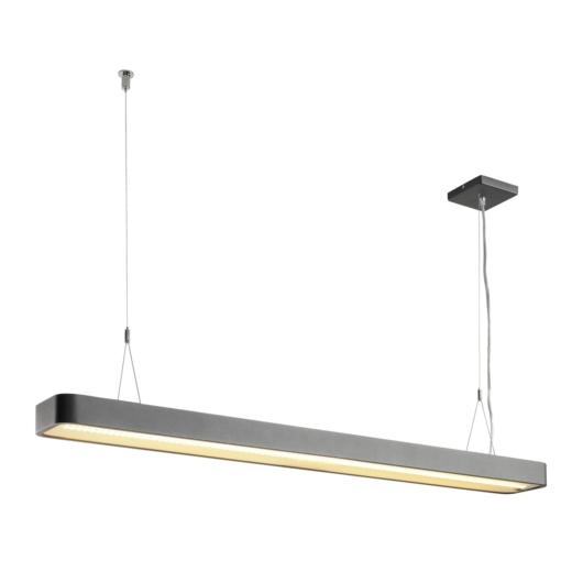 WORKLIGHT PLUS, beltéri LED függesztett lámpatest 3000K antracit