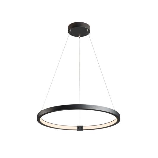 ONE 60 DALI beltéri LED függesztett lámpatest, fekete