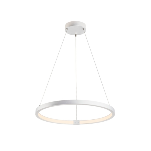 ONE 60 DALI beltéri LED függesztett lámpatest, fehér