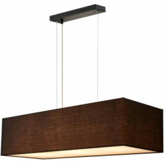 ACCANTO SQUARE E27 beltéri függesztett lámpatest, fekete