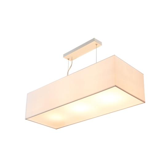 ACCANTO SQUARE E27 beltéri függesztett lámpatest, fehér