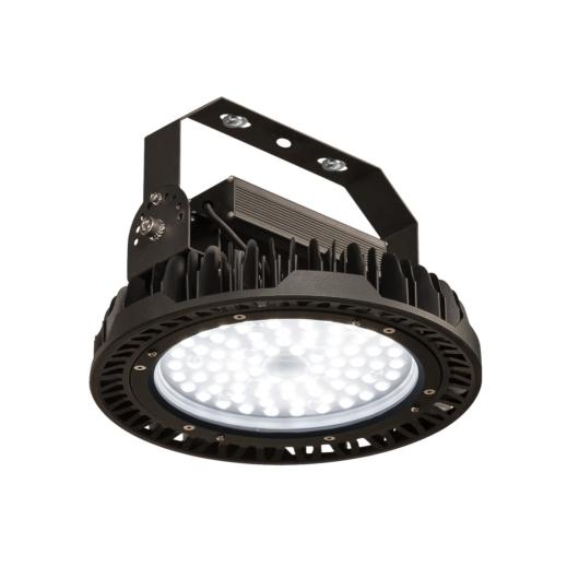 PARA FLAC DALI LED függesztett lámpatest, fekete, 100W 4000K, IP65