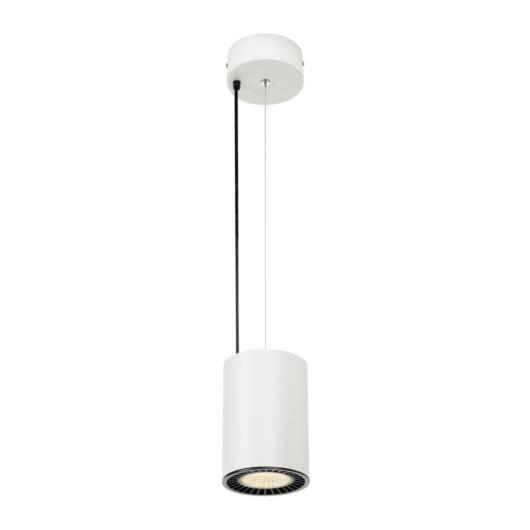 SUPROS PD beltéri LED függesztett lámpatest, kerek, fehér, 4000K, 60° reflector, CRI90, 2700lm