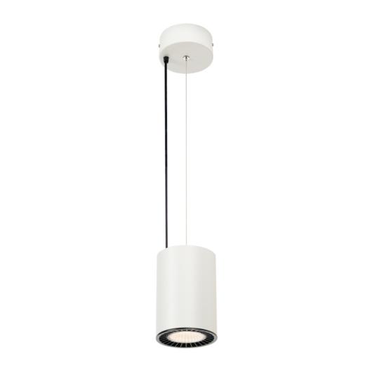 SUPROS PD beltéri LED függesztett lámpatest, kerek, fehér, 3000K, 60° reflector, CRI90, 3380lm