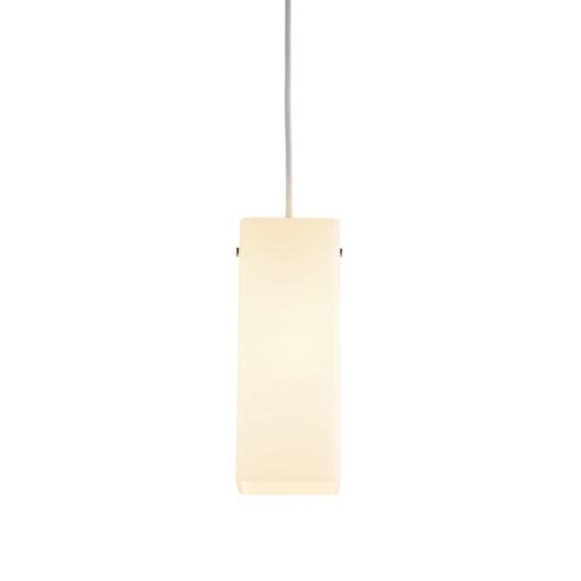 QUADRASS beltéri függesztett lámpatest, E27, fehér