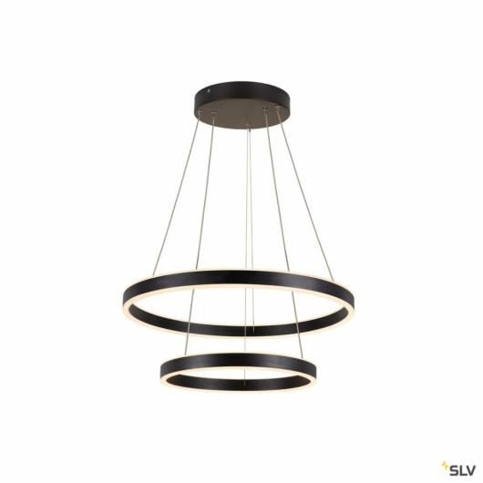 ONE DOUBLE PD PHASE UP/DOWN, beltéri LED függesztett lámpatest, fekete CCT kapcsolóval 2700/3000K