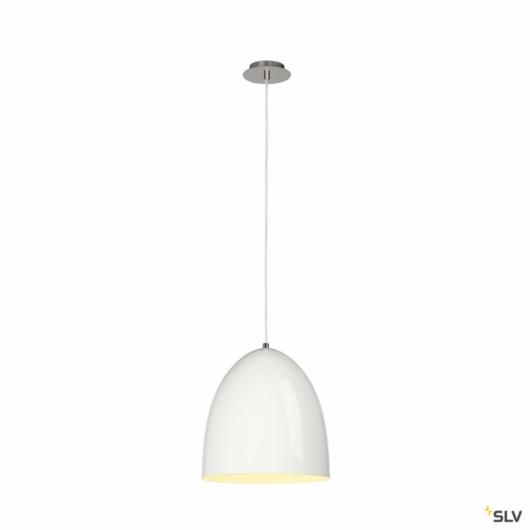 PARA CONE 30 függesztett lámpatest, kerek, fehér, E27, max. 60W