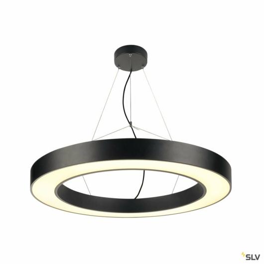 MEDO Ring PRO 90 RING függesztett lámpatest, fekete, LED