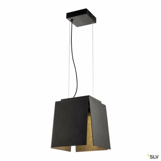 AVENTO 30 PD, LED beltéri függesztett lámpatest, fekete/arany, 3000K