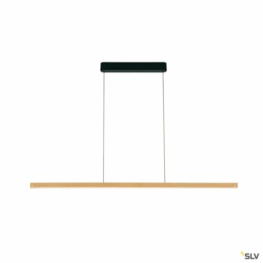 VINCELLI 2, függesztett lámpatest, LED, 2700K, light bambusz, dimmelhető, 29W